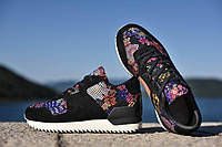 "Кроссовки Adidas ZX700 Remastered ""Black Floral"""