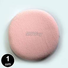 Luxury Спонж косметич. SP-04 (1шт) круглый латекс, фото 2