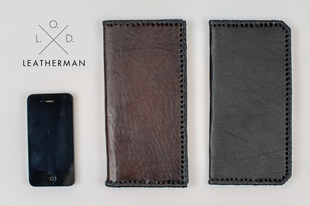 Кожаные кошельки и портмоне ручной работы