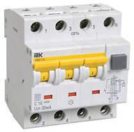 Автоматические выключатели дифференциального тока АВДТ34 тип А