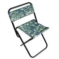 Стул для пикника раскладной: 4 цвета, ткань полиэстер, 60*34*30 см
