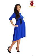 Платье синее для беременных, фото 1