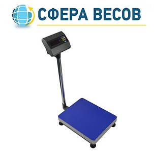 Весы товарные со стойкой ЗЕВС А12L (300 кг - 600x800), фото 2