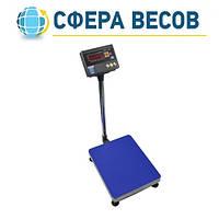 Весы товарные со стойкой ЗЕВС А12E RS232 (100 кг - 400x500)