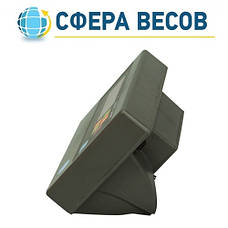 Весы товарные со стойкой ЗЕВС А12E RS232 (200 кг - 400x500), фото 2