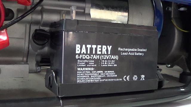 Аккумуляторная батарея на генераторе Werk 3000E фото 8