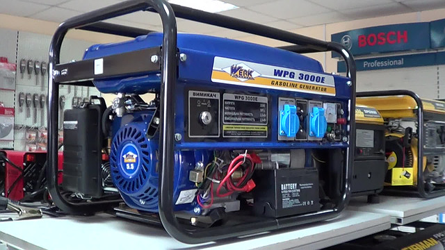 Бензиновый генератор Werk 3000E