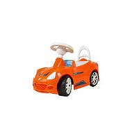 Машинка для катания СПОРТ КАР оранжевая ОРИОН 160