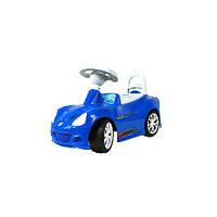 Машинка для катания СПОРТ КАР синяя ОРИОН 160