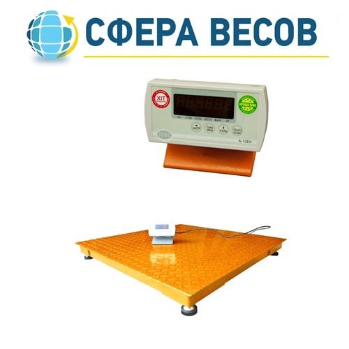 Весы платформенные ЗЕВС-ЭКОНОМ (500 кг - 1000х1000)