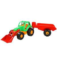Игрушка Трактор с прицепом, ОРИОН 993