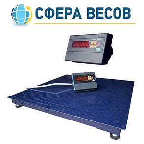 Весы платформенные ЗЕВС-СТАНДАРТ (1000 кг - 1200х1200), фото 2