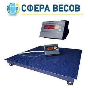 Весы платформенные ЗЕВС-СТАНДАРТ (2000 кг - 1500х1500), фото 2