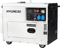 Дизельная электростанция Hyundai DHY6000SE