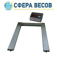 Весы паллетные ЗЕВС-A12L (1000 кг)