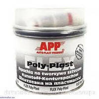 Автомобильная шпатлевка для пластмассы APP FLEX POLY-PLAST, 0,6 кг