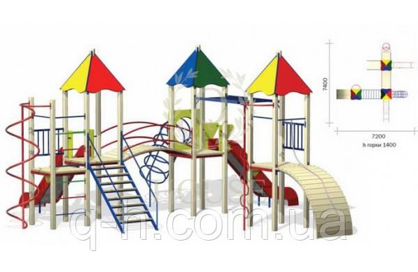 Игровой комплекс для детей кв 3-2, фото 2
