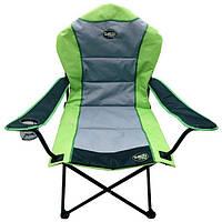 Складная кемпинговая мебель, стул: 2 цвета, полиэстер, подстаканник, 59х60/98х44х105 см