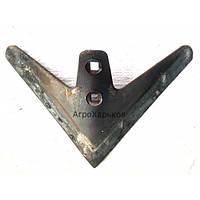 Лапа стрельчатая КПС 270мм (Сталь 65) наплавка сормайтом