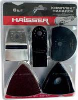 HAISSER HS 107001 Комплект насадок для реноватора 6 шт