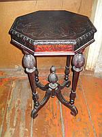 Реставрация чайного столика середины 19 века.