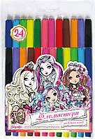 Фломастеры 24 цвета 1 Вересня серия для девочек