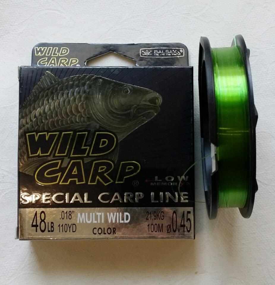 Волосінь wild-carp 100M ( 0.2 mm)