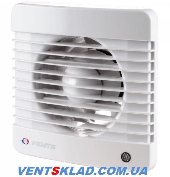 Осьовий вентилятор Вентс 125 МК з клапаном