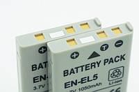 Аккумулятор EN-EL5 - аналог для NIKON COOLPIX series - 1050 ma