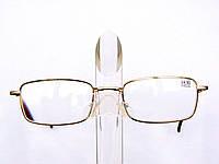 Очки диоптрийные (от +0.5 до + 6.0). Корригирующие, металлические, Fabrika