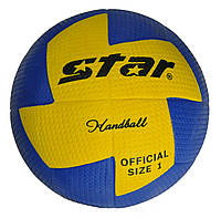 М'яч гандбольний №1 Star Outdoor покришка вспінена гума JMC001