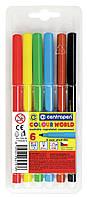 Фломастеры  6 цветов Colour World 7550  от Ctntropen