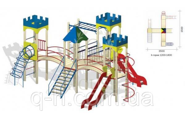 Игровой комплекс для детей кв 3-5, фото 2
