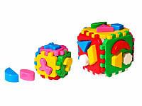 Развивающая игрушка куб Умный малыш 1+1 Технок 1899 IU