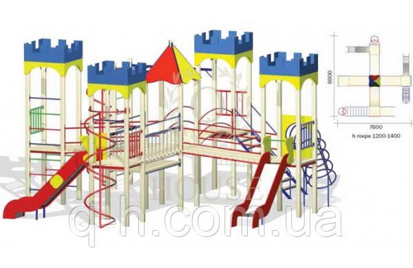 Игровой комплекс для детей кв 3-7 м, фото 2