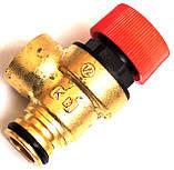 """Клапан безопасности 3 бара (взрывной, предохранительный под """"клипсу"""") Praga, Rocterm, код сайта 4078, фото 2"""