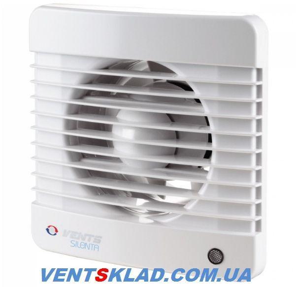 Бесшумный вытяжной вентилятор Вентс 100 Силента-МТН