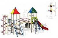 Детский игровой комплекс КВ 3-1