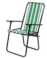 """Кресло портативное """"Дачное; зелёный"""