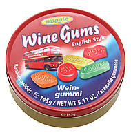 Жевательные конфеты Wine Gums Woogie со вкусом алкогольных напитков, 145 гр