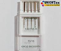 Набор иглы швейные универсальные №70 (Groz Beckert)