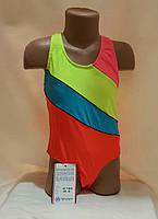 Купальник детский сдельный в спортивном стиле 38 дет