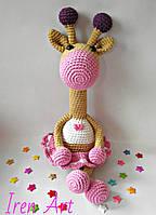 Жираф-погремушка Варюша