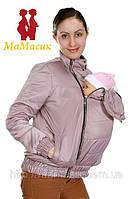 Слингокуртка демисезонная 3в1: беременность, слингоношение, обычная куртка, фото 1