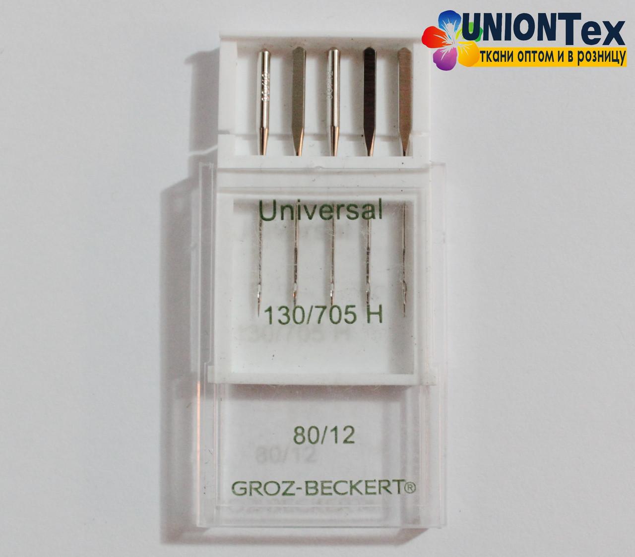 Набор иглы швейные универсальные №80 (Groz Beckert)