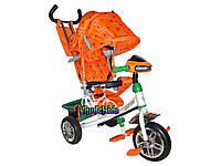 Трехколесный детский велосипед Azimut с фарой аналог Ламборджини