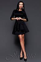 Оригинальное женское платье - колокольчик Бруни черное