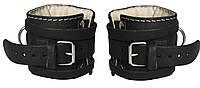 Манжеты F8 для тяги на тренажере (2 шт, кожа), фото 1