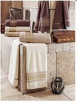 Комплект махровых полотенец баня (70X140) JULIE Grek