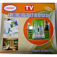 Органайзер для ванной Health Toothbrush Box, фото 1